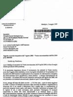 lettera risposta sindaco