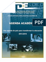 Agenda Académica Depta. Educ. 2013-2016