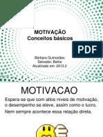motivação 2013.2