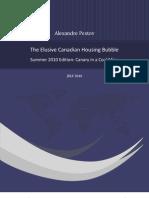 2010Aug281014Alexandre Pestov - The Elusive Canadian Housing Bubble - 2010 Summer v.05