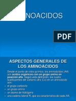 4. AMINOACIDOS CARACTERISTICAS