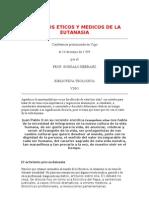 Aspectos Eticos y Medicos de La Eutanasia