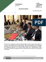30/08/13 Germán Tenorio Vasconcelos Reunion Con La Asociacion de Hemofilia
