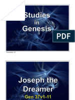 54 Genesis 37v1-11 Joseph the Dreamer