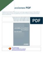 Manual de Instrucciones CASIO ALGEBRA FX 2.0 PLUS S