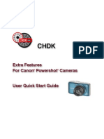 CHDK User Quick Start Guide