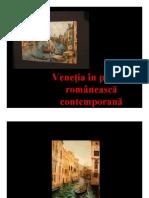 Venetia in Pictura Romaneasca Contemporana