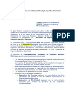 Carta de Invitación - Industriales - Electrónicos