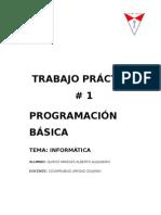 TRABAJO PRÁCTICO DE PROGRAMACIÓN BÁSICA