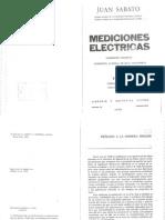 Mediciones Electricas - Juan Sabato - En Español