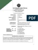Programa de Bioquimica i Cfi-233