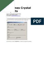 Informes Crystal Reports.net