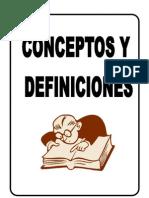 Conceptos y Definiciones Generales de La Salud en El Trabajo
