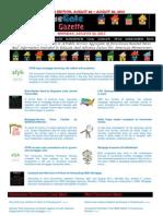 Weekend Edition - August 26, to August 30, 2013 - ForeclosureGate Gazette
