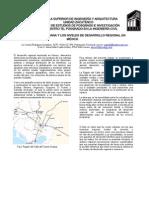 Estructura Urbana Niveles Desarrollo Regional Mexico IPN Ing Arquitectura