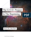 The G.O.D. Project-In the Begining