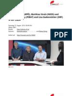 Vermögenssteuer ist heute ein Luftgitarrenkonzert der SPÖ. #ZIB24 Transkript - Interview mit Mirko Messner (KPÖ), Matthias Strolz (NEOS) und Christopher Clay (PIRAT) und Lisa Gadenstätter (ORF)