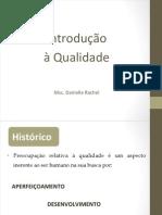 Aula 01 -Histórico e Introdução à Qualidade