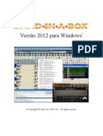 Band in a Box 2012 Manual Português