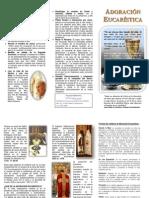 Adoración Eucarística (Folleto1)