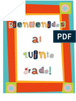 back to school welcom packet spanish