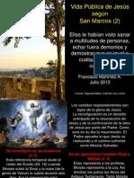 Vida Pública de Jesús según San Marcos (2)