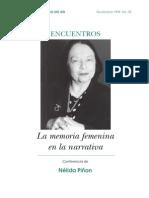 Nélida Piñón-La memoria femenina en la narración