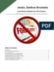 Glaski, Erobobo, Saldivar Brouhaha - Red Herring Foreclosure Defense of PSA Flouters