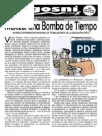 KGOSNI 134-MÉXICO, UNA BOMBA DE TIEMPO