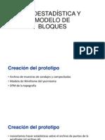 GEOESTADÍSTICA Y MODELO DE