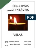 Alternativas Sustentáveis- Velas