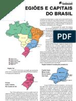 Regiões e capitas do brasil