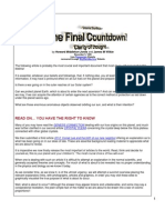 10 - The Final Countdown - Cosmic Conflicts - Clarity of Thought...