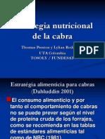 Estrategia Nutricional