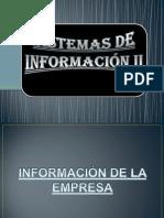Proyecto de Sistemas de Información II