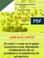 Gestion de Costos Expocision Equipo 1