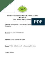 Cuadro - Investigacion CC
