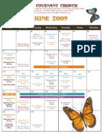 June NCC Calendar