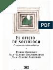 Bourdieu Pierre - El Oficio de Sociologo