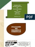 6.EVALUACIÓN DEL DESARROLLO CURRICULAR