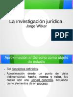 Jorge Witker - La Investigación Jurídica