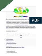 Geoquímica