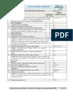 Check List Manual Microsoft Project 2003-2007-2010 Diplomado