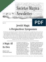 Societas Magica - SMN Spring 2003 Issue 10