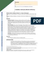 Leukocyte Adhesion Deficiency