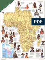 Africa Map Cultures Original
