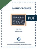 Algebra 1 EOC MiamiTest Prep Packet 2012