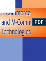 E-Commerce an M-Commerce Technologies