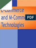 E-Commerce an M-Commerce Technologies
