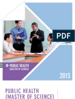 IMU Msc Public Health Brochure